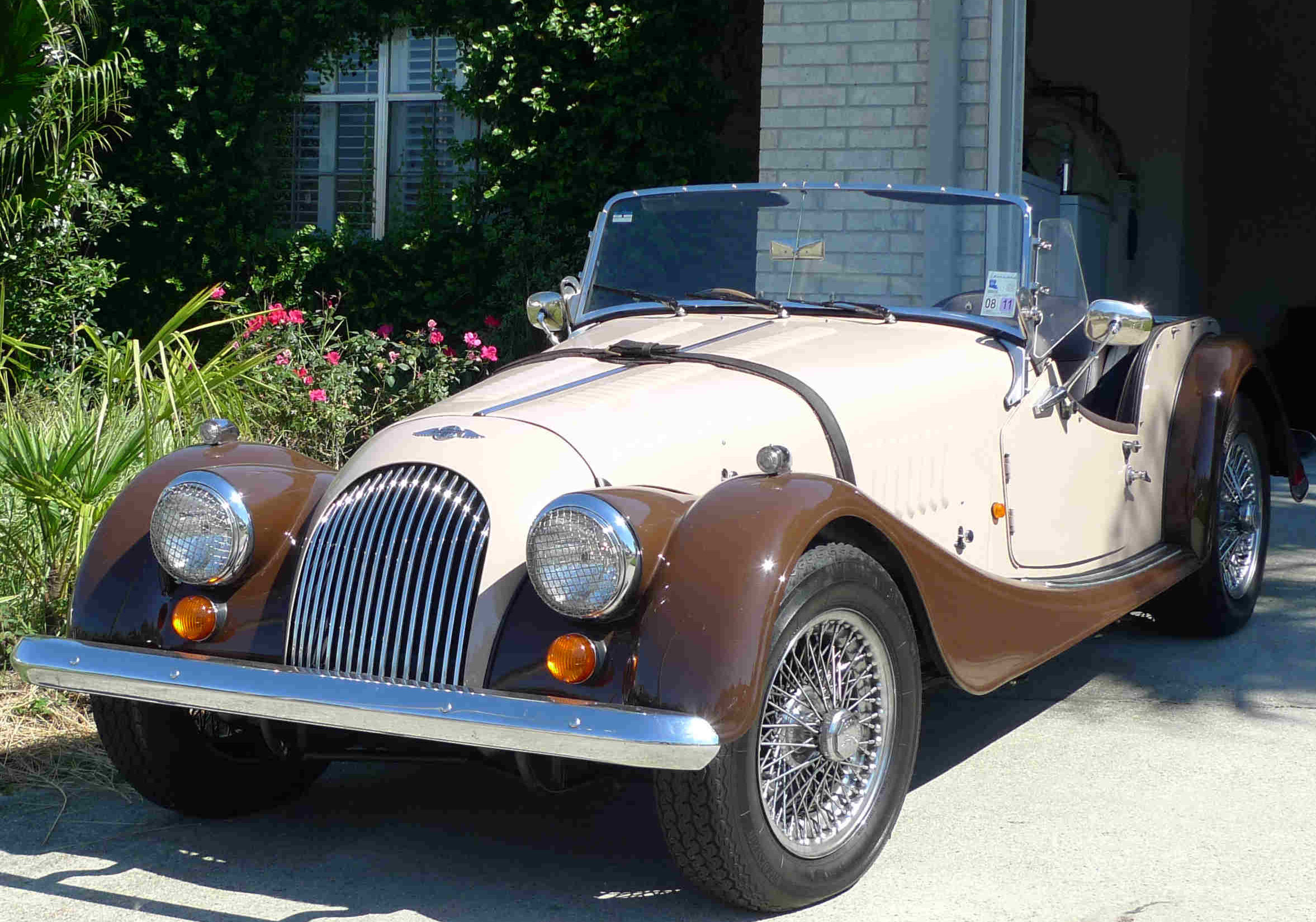 1996 Morgan Plus 4 #18