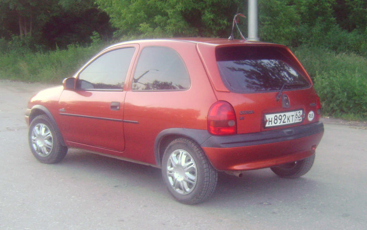 1996 opel corsa photos informations articles. Black Bedroom Furniture Sets. Home Design Ideas