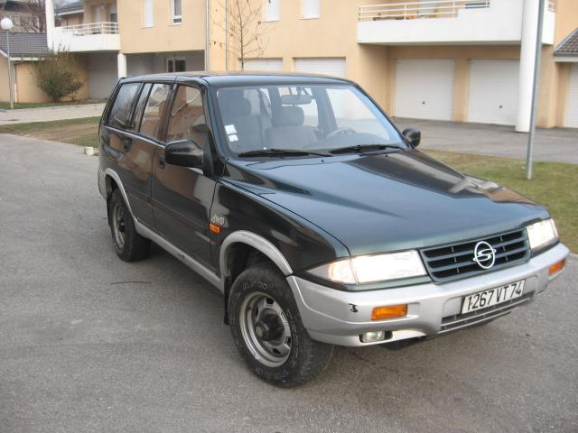 1996 Ssangyong Musso #16