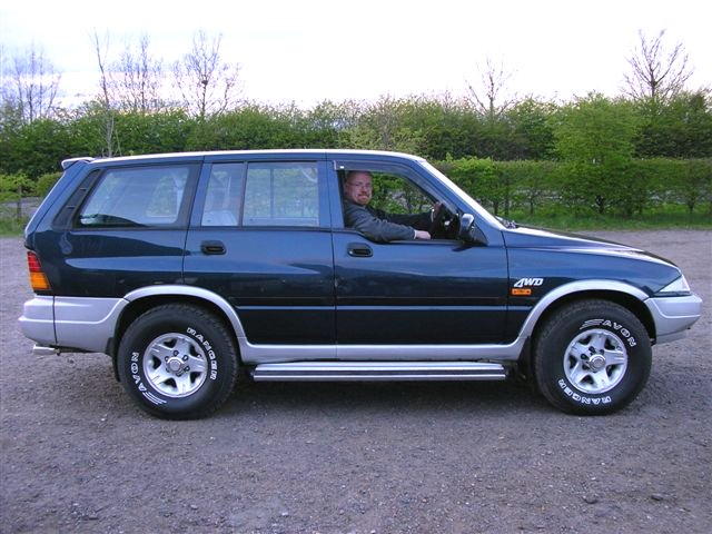 1996 Ssangyong Musso #18