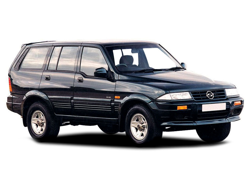 1996 Ssangyong Musso #19
