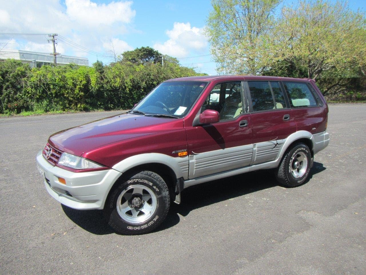 1996 Ssangyong Musso #15
