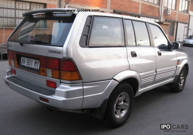 1996 Ssangyong Musso #17