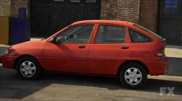 1997 Ford Aspire #16