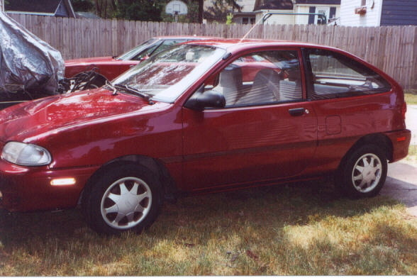 1997 Ford Aspire #13
