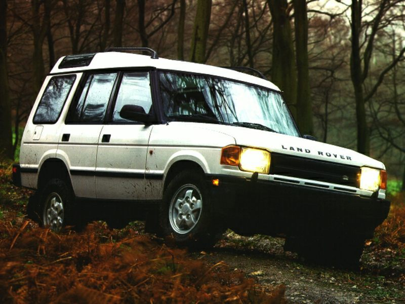 1997 Land Rover Discovery #19