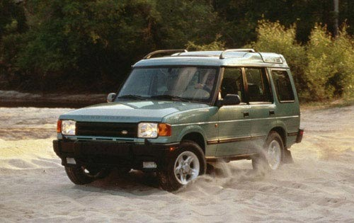 1997 Land Rover Discovery #16