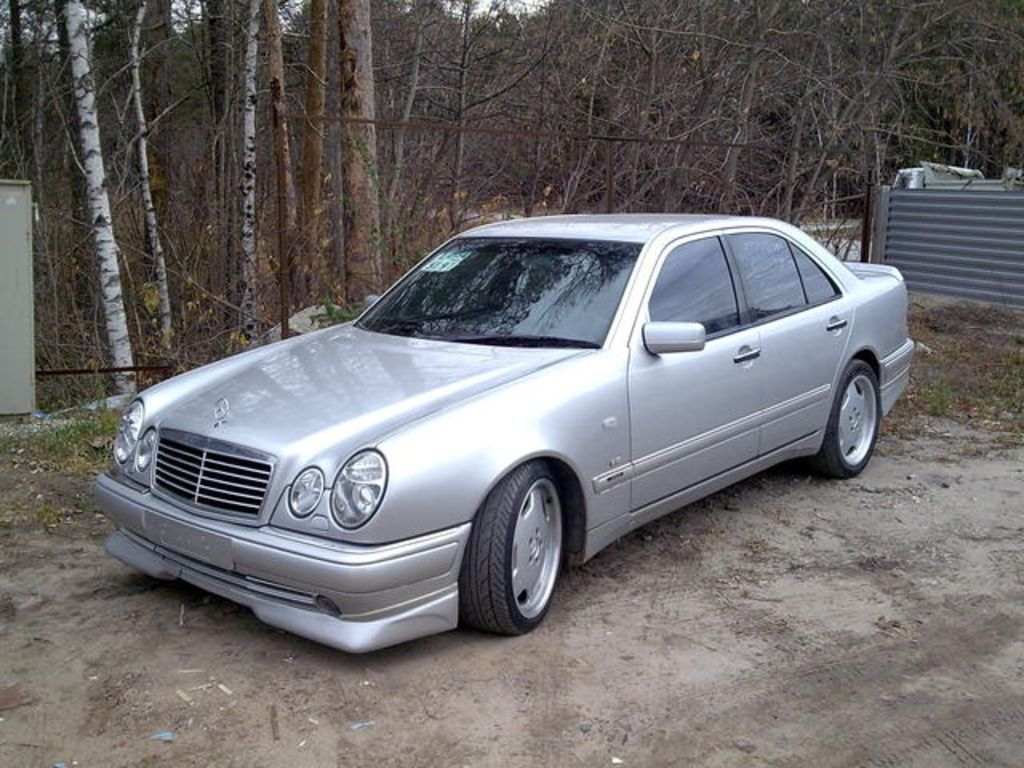 1997 mercedes benz e class photos informations articles for 1997 mercedes benz e class
