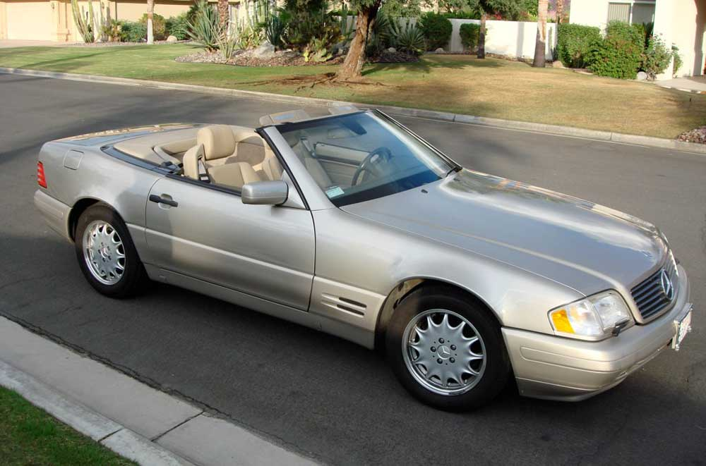 1997 Mercedes-Benz SL #12