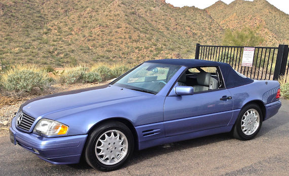 1997 Mercedes-Benz SL #13