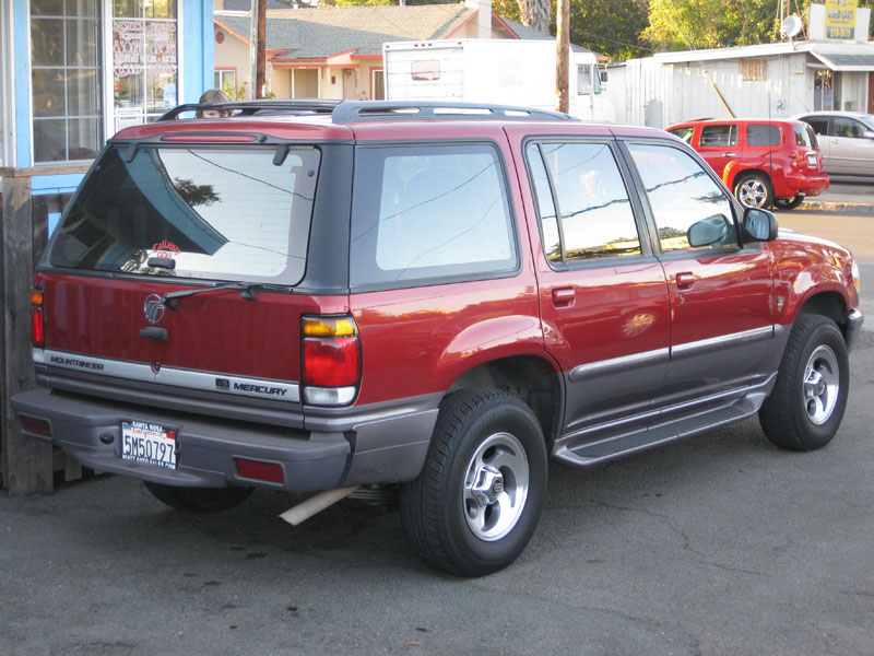 1997 Mercury Mountaineer #26