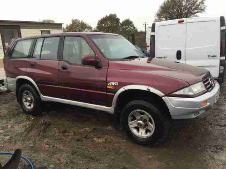 1997 Ssangyong Musso #20