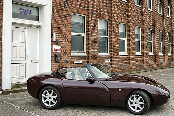 1997 TVR Griffith #23