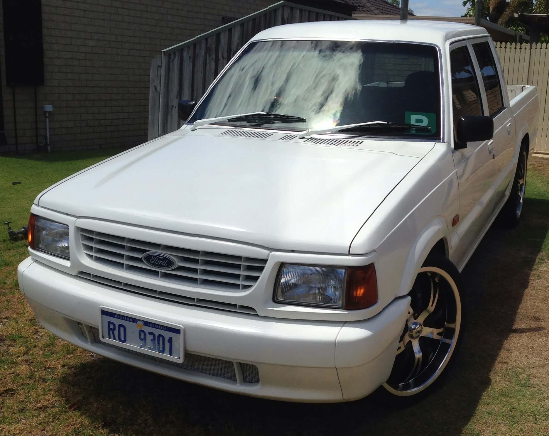 1998 Ford Courier #17