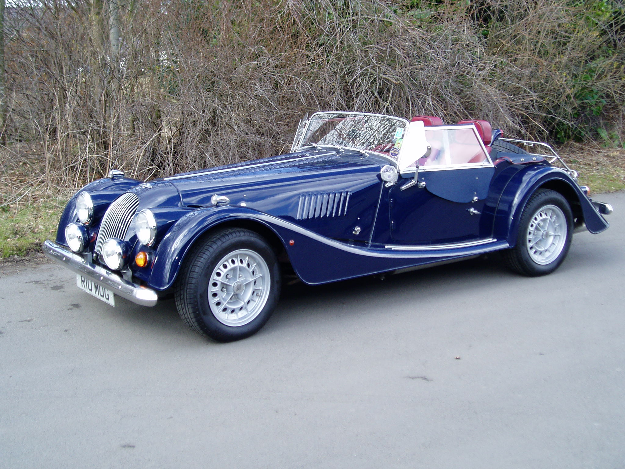 1998 Morgan Plus 4 #14
