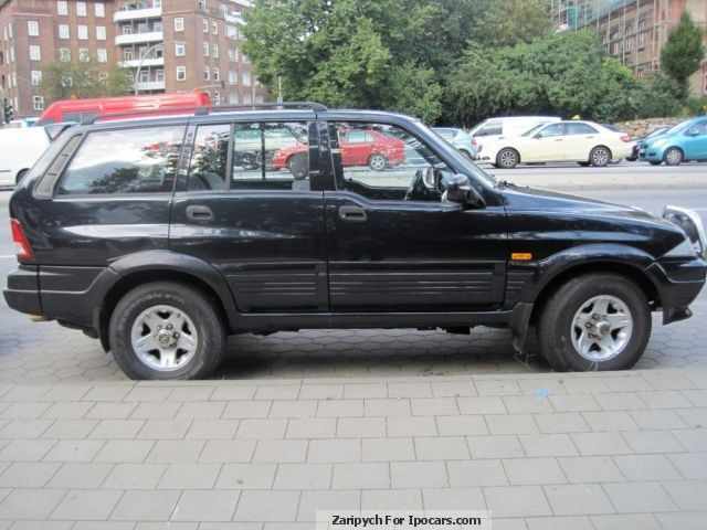1998 Ssangyong Musso #17