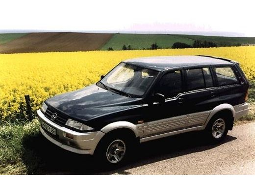 1998 Ssangyong Musso #14