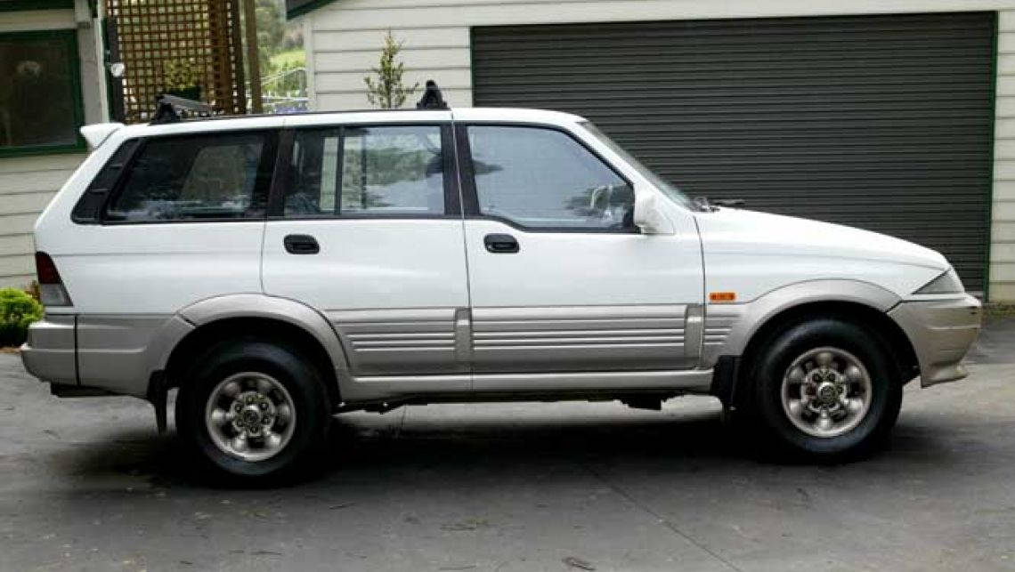1998 Ssangyong Musso #16