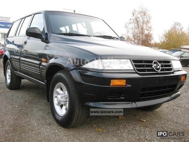 1998 Ssangyong Musso #15