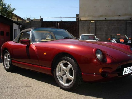 1998 TVR Griffith #18