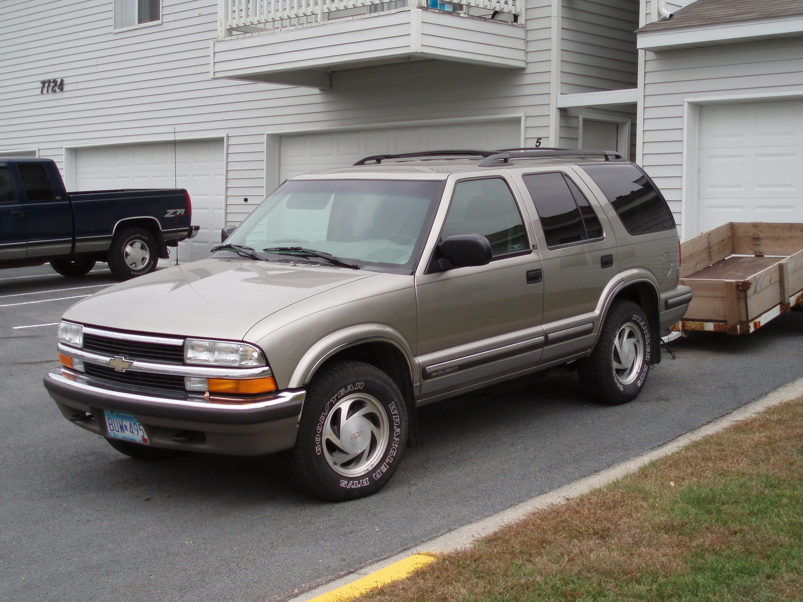2003 chevy chevrolet blazer owners manual