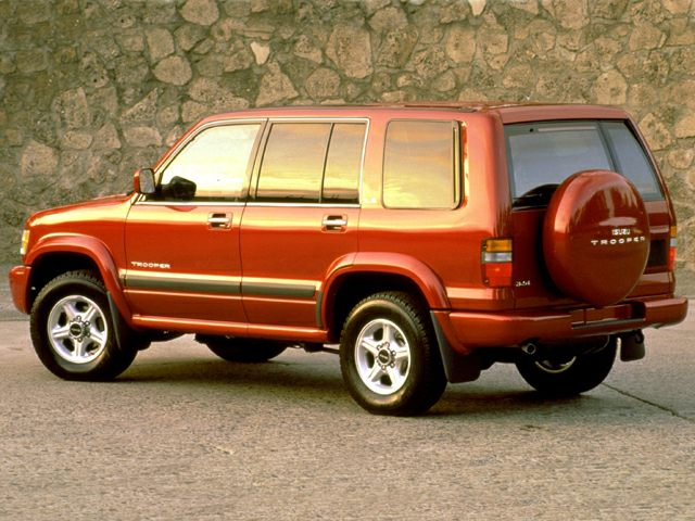 1999 Isuzu Trooper Photos Informations Articles Bestcarmag