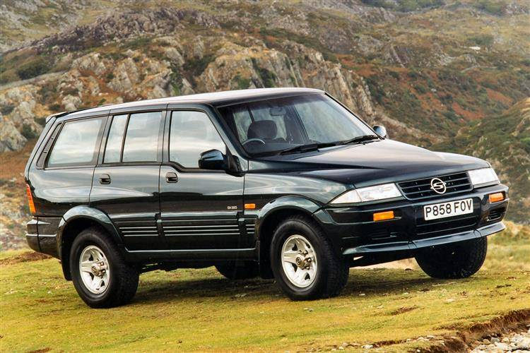 1999 Ssangyong Musso #13