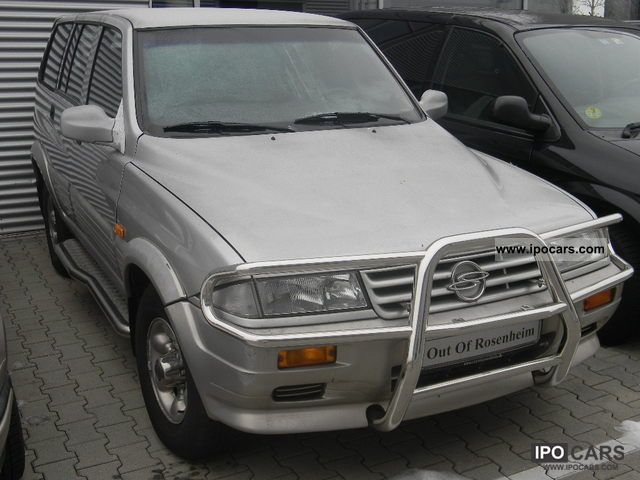 1999 Ssangyong Musso #16