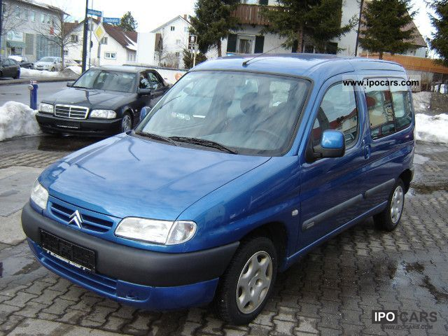 2000 Citroen Berlingo Photos Informations Articles