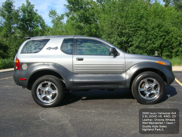 2000 isuzu vehicross photos informations articles. Cars Review. Best American Auto & Cars Review