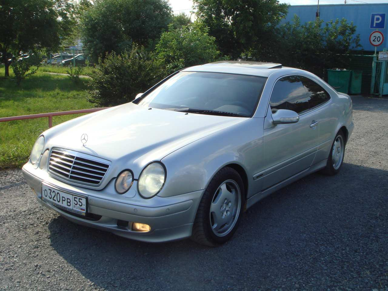 2000 Mercedes-Benz CLK #23