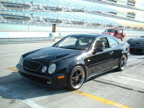 2000 Mercedes-Benz CLK #21