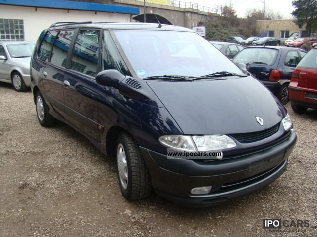 2000 renault grand espace photos informations articles. Black Bedroom Furniture Sets. Home Design Ideas