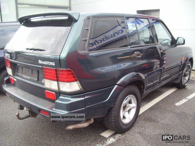 2000 Ssangyong Musso #22