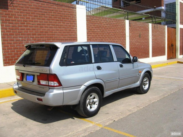 2000 Ssangyong Musso #21