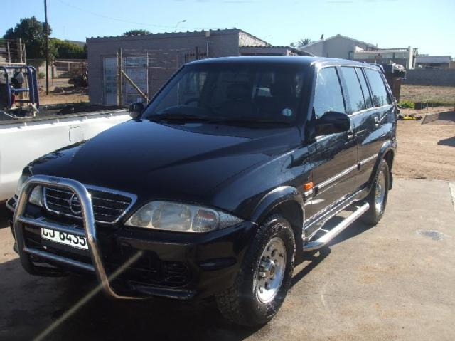 2000 Ssangyong Musso #16