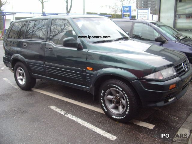 2000 Ssangyong Musso #20