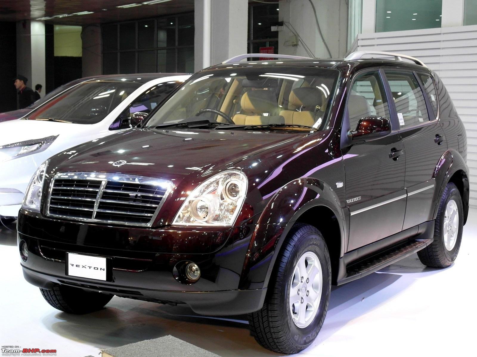 2000 ssangyong rexton photos informations articles. Black Bedroom Furniture Sets. Home Design Ideas