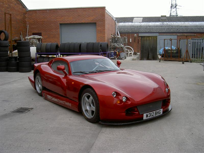 2000 TVR Speed 12 #18