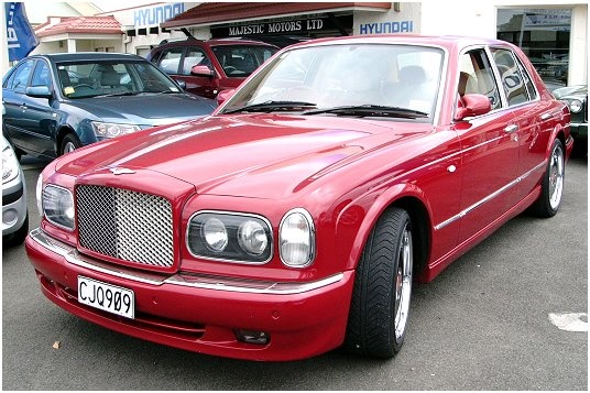 2001 Bentley Arnage #22