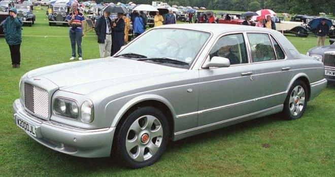 2001 Bentley Arnage #24