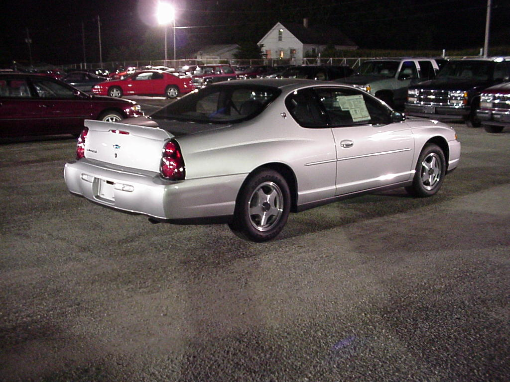 2001 chevrolet monte carlo photos informations articles. Black Bedroom Furniture Sets. Home Design Ideas