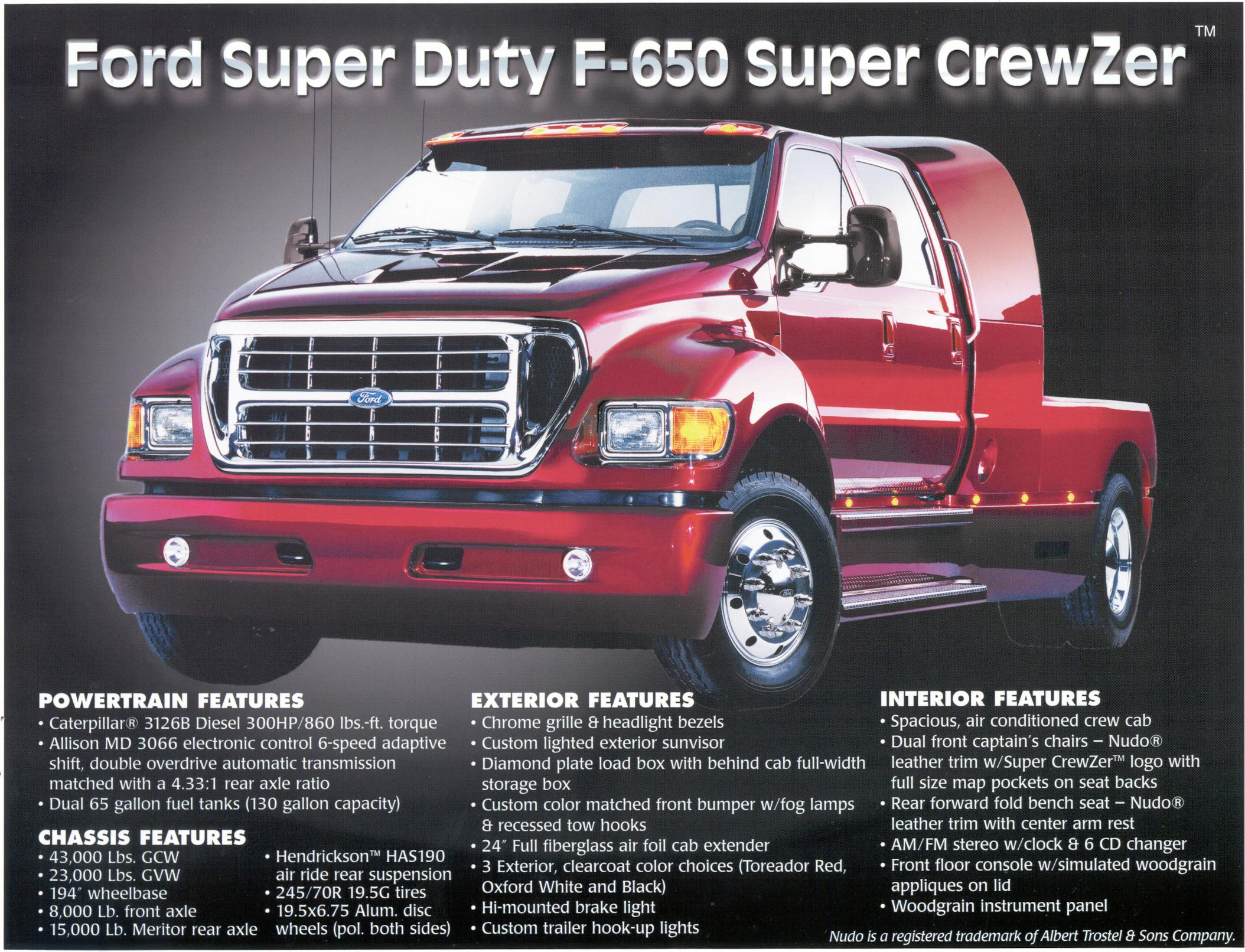 2001 Ford F-650 #14