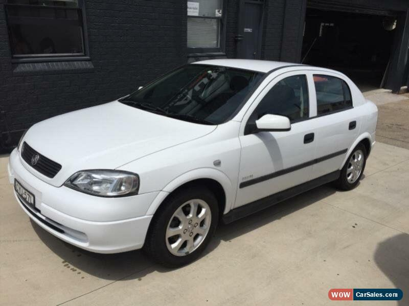 2001 Holden Astra Photos, Informations, Articles - BestCarMag.com