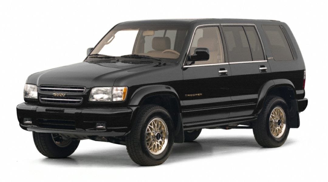 2001 Isuzu Trooper #13