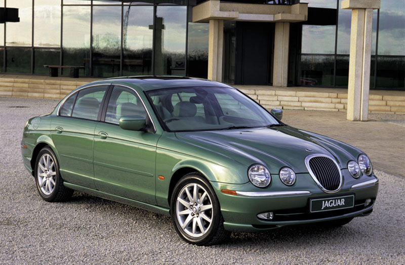 2001 Jaguar S-type #17