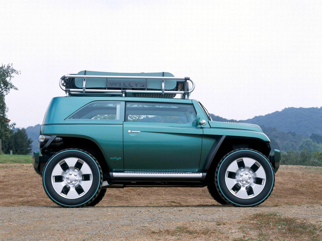 2001 Jeep Willys #20