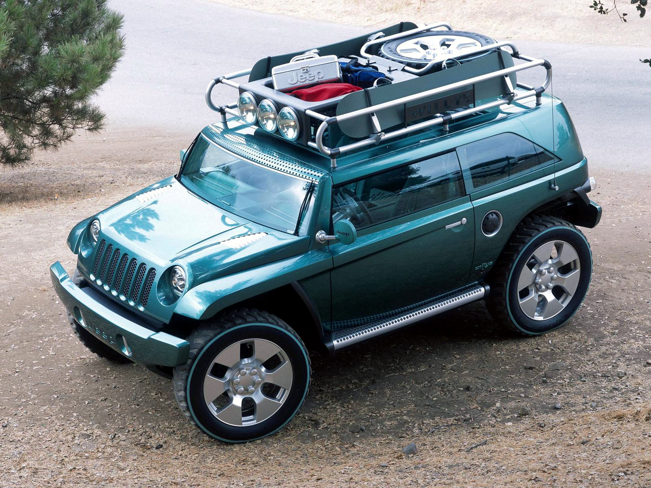 2001 Jeep Willys #24