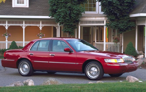 2001 Mercury Grand Marquis #16
