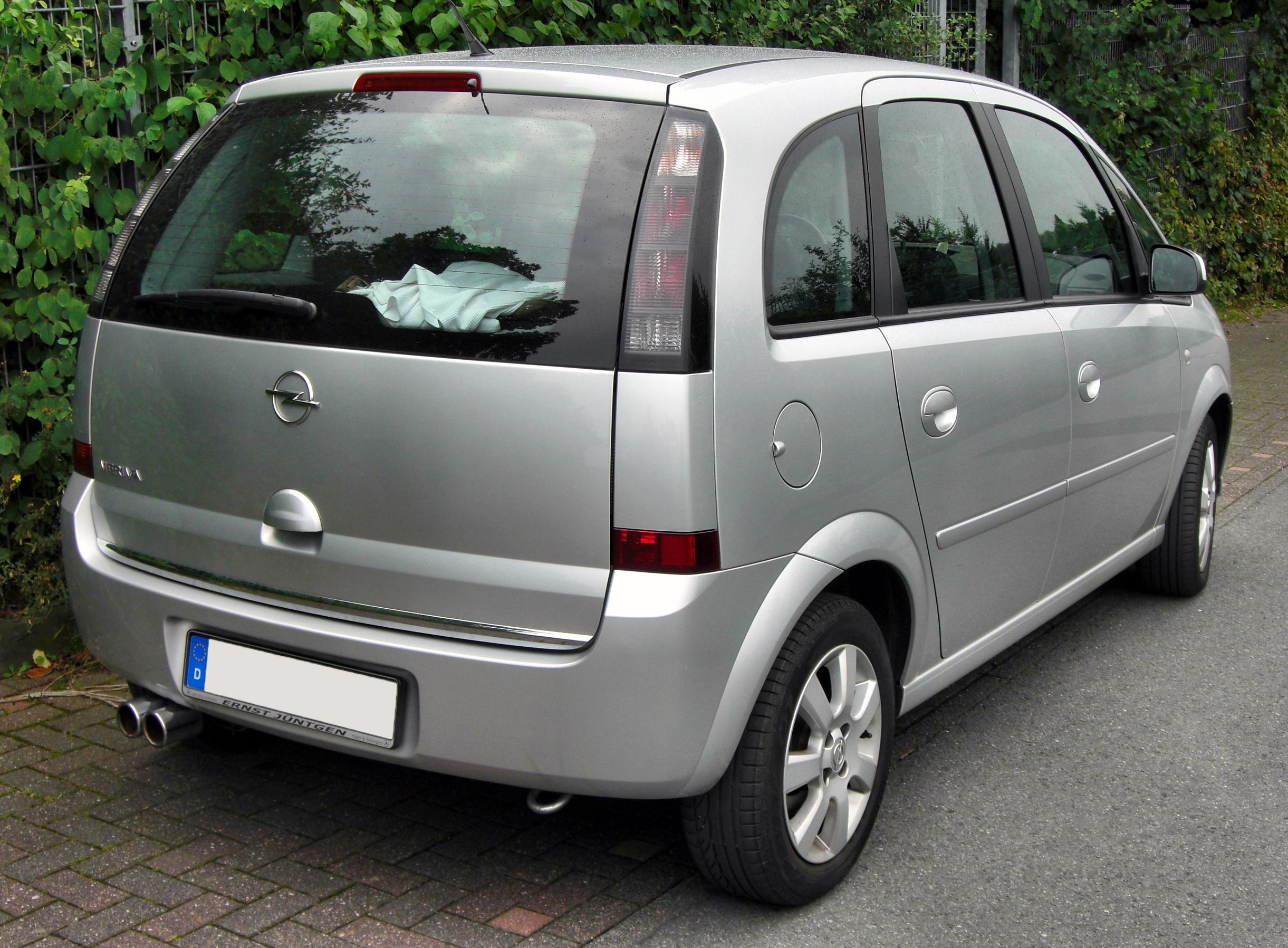 2001 opel meriva photos informations articles. Black Bedroom Furniture Sets. Home Design Ideas